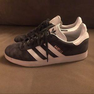 Gazelle Adidas grey shoes